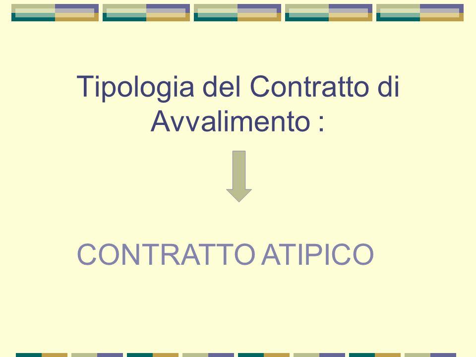 Tipologia del Contratto di Avvalimento :
