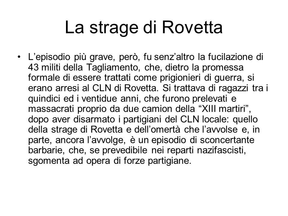 La strage di Rovetta