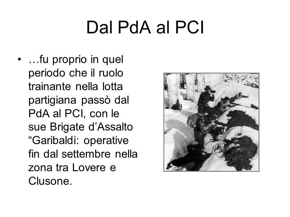 Dal PdA al PCI