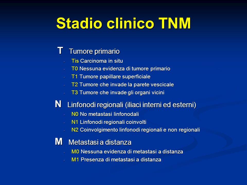 Stadio clinico TNM T Tumore primario