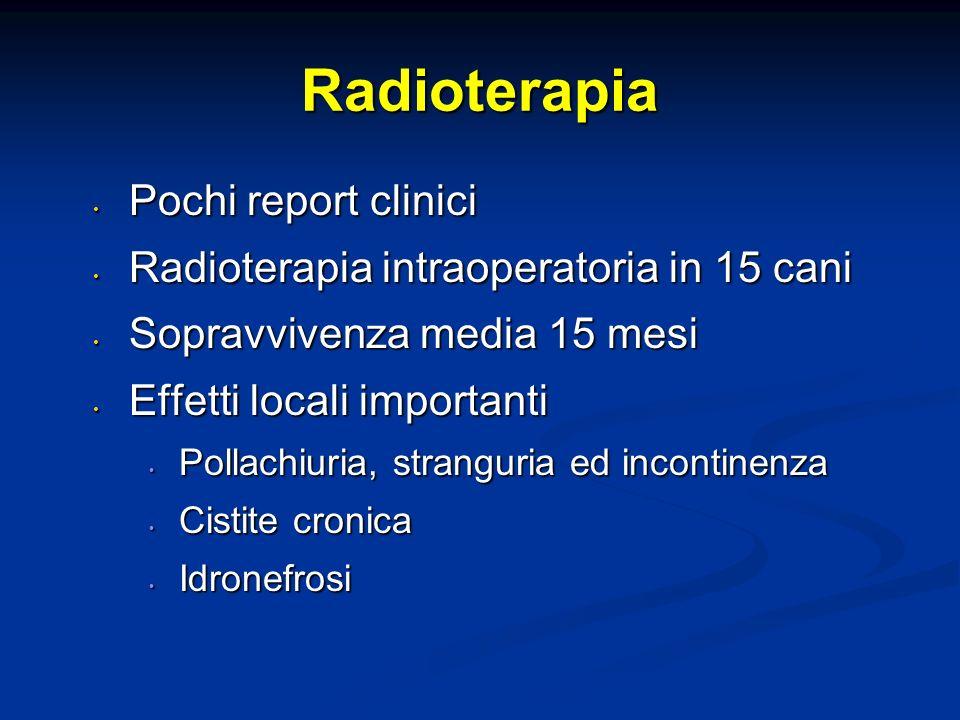 Radioterapia Pochi report clinici