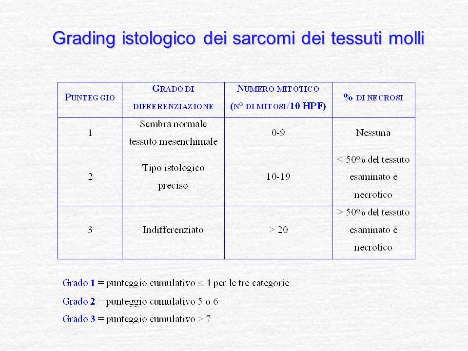Grading istologico dei sarcomi dei tessuti molli