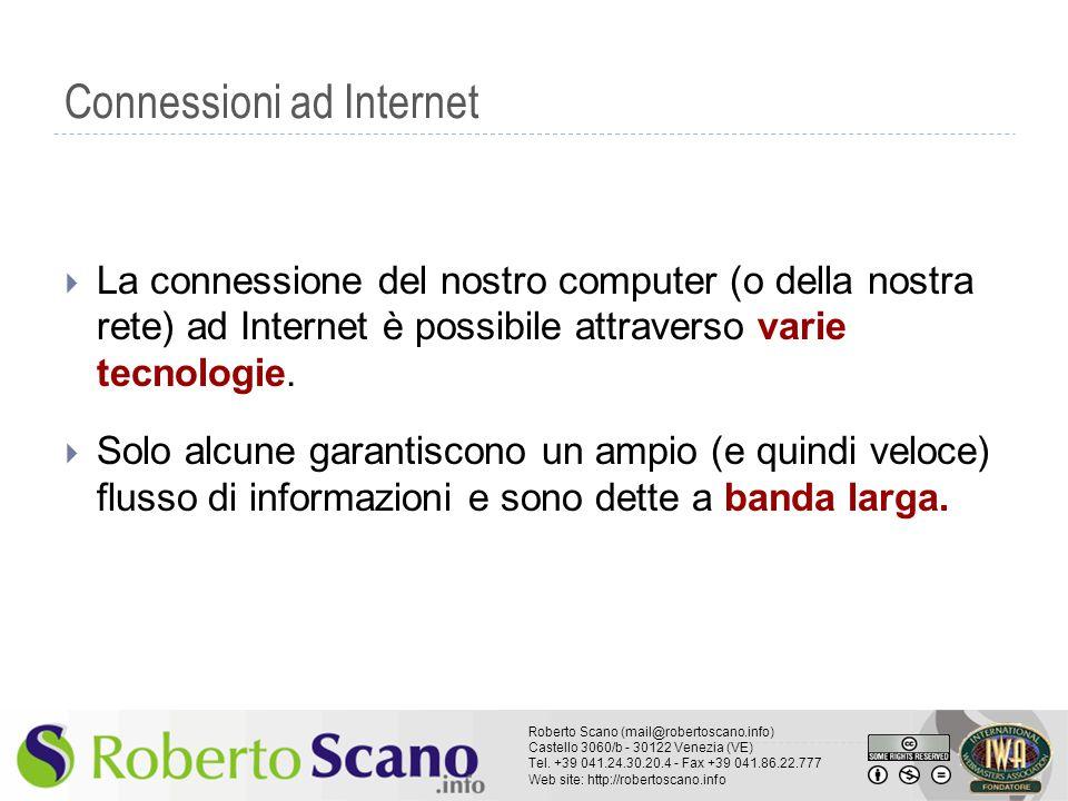 Connessioni ad Internet