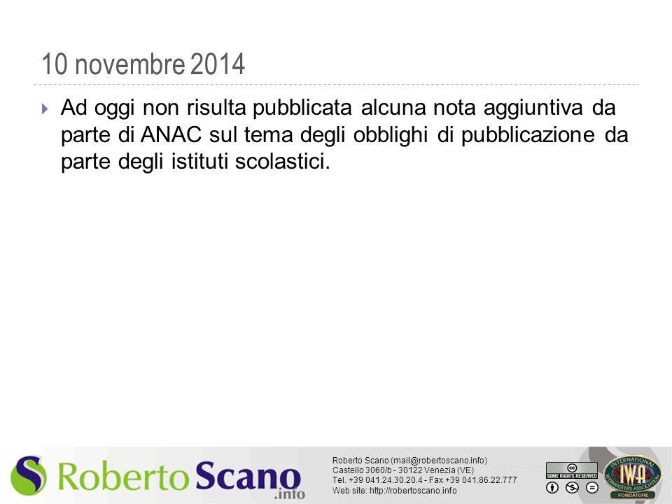 10 novembre 2014