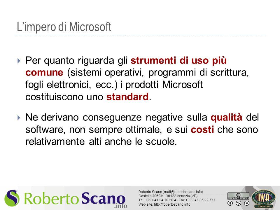 L'impero di Microsoft