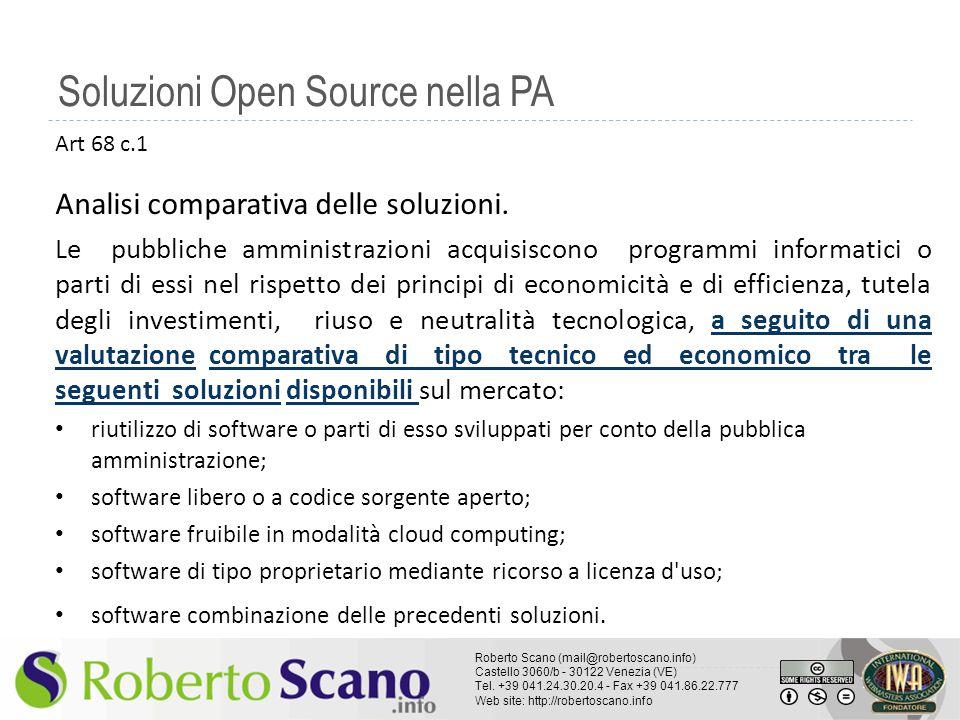 Soluzioni Open Source nella PA