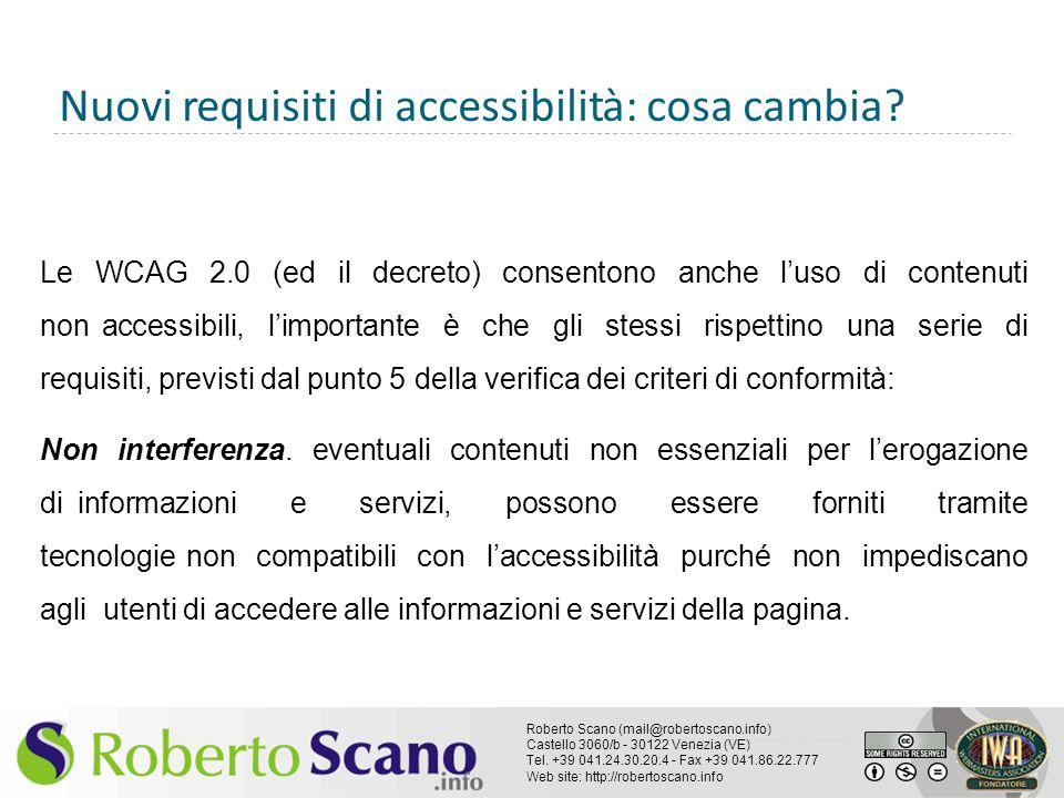 Nuovi requisiti di accessibilità: cosa cambia