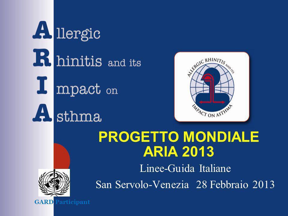 PROGETTO MONDIALE ARIA 2013