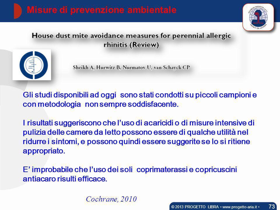 Misure di prevenzione ambientale