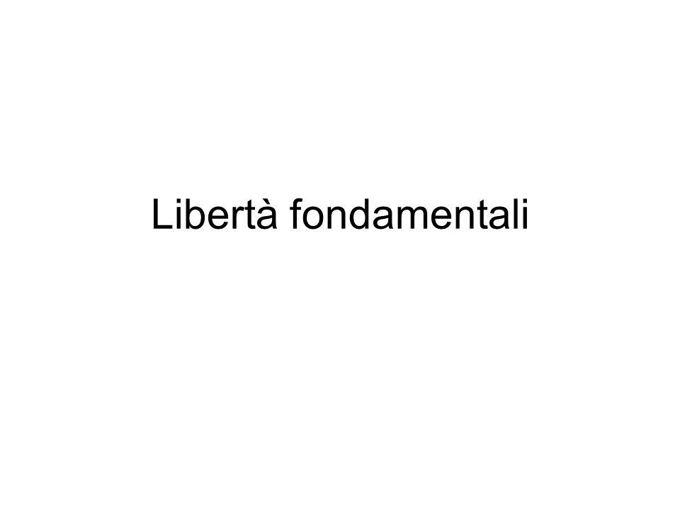Libertà fondamentali