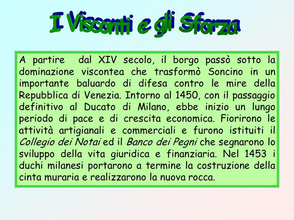 I Visconti e gli Sforza