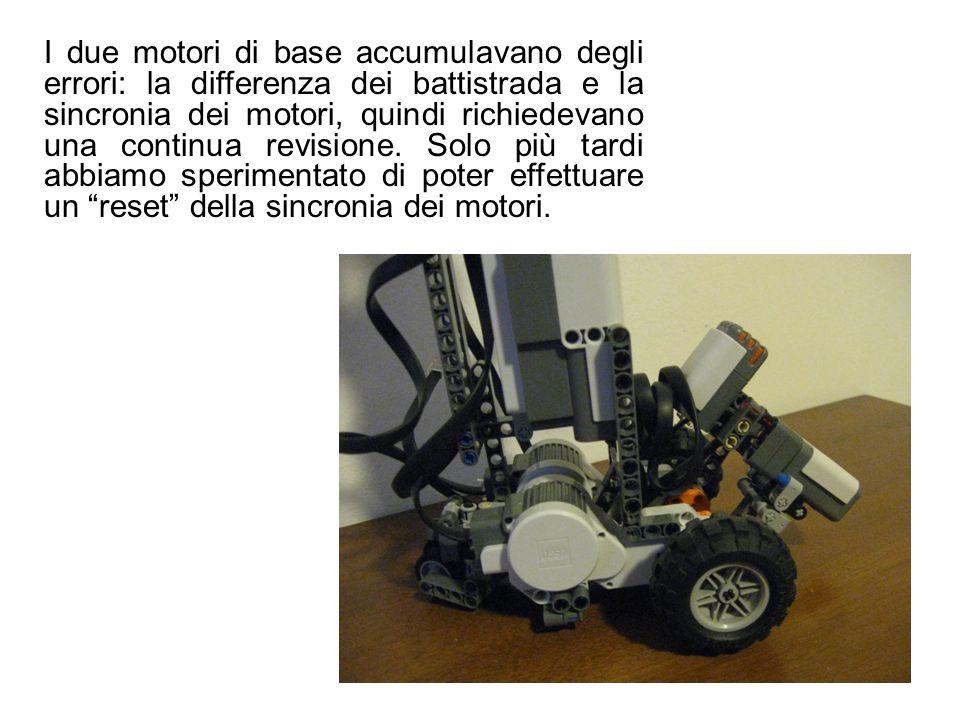I due motori di base accumulavano degli errori: la differenza dei battistrada e la sincronia dei motori, quindi richiedevano una continua revisione.