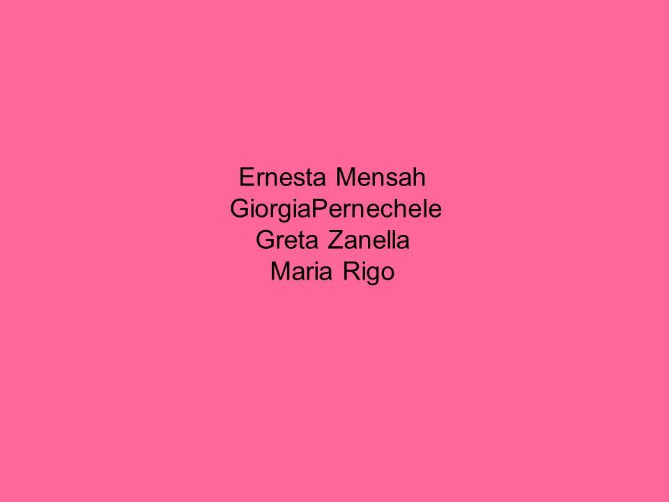 Ernesta Mensah GiorgiaPernechele Greta Zanella Maria Rigo