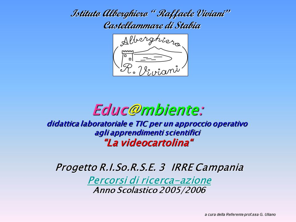 Istituto Alberghiero Raffaele Viviani