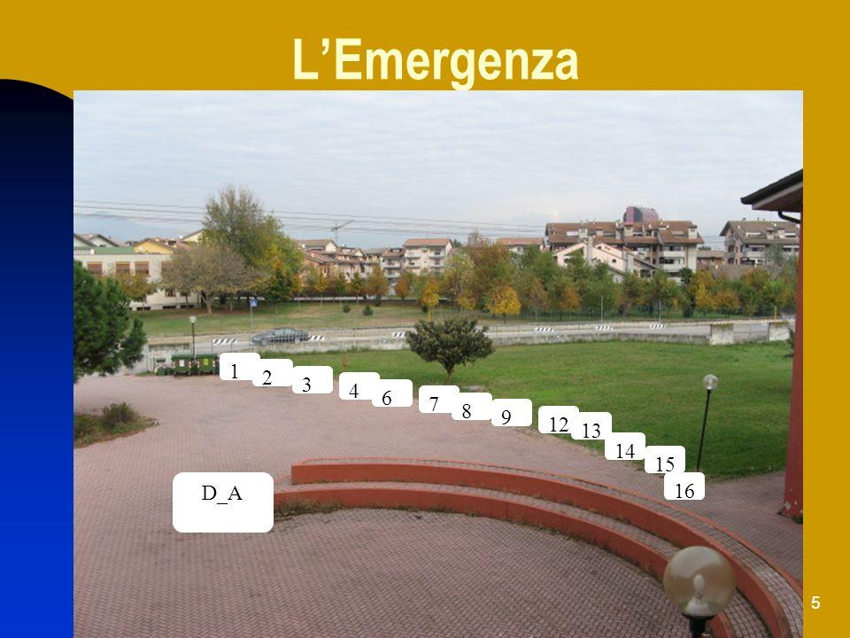 L'Emergenza 1 2 3 4 6 7 8 9 12 13 14 15 D_A 16