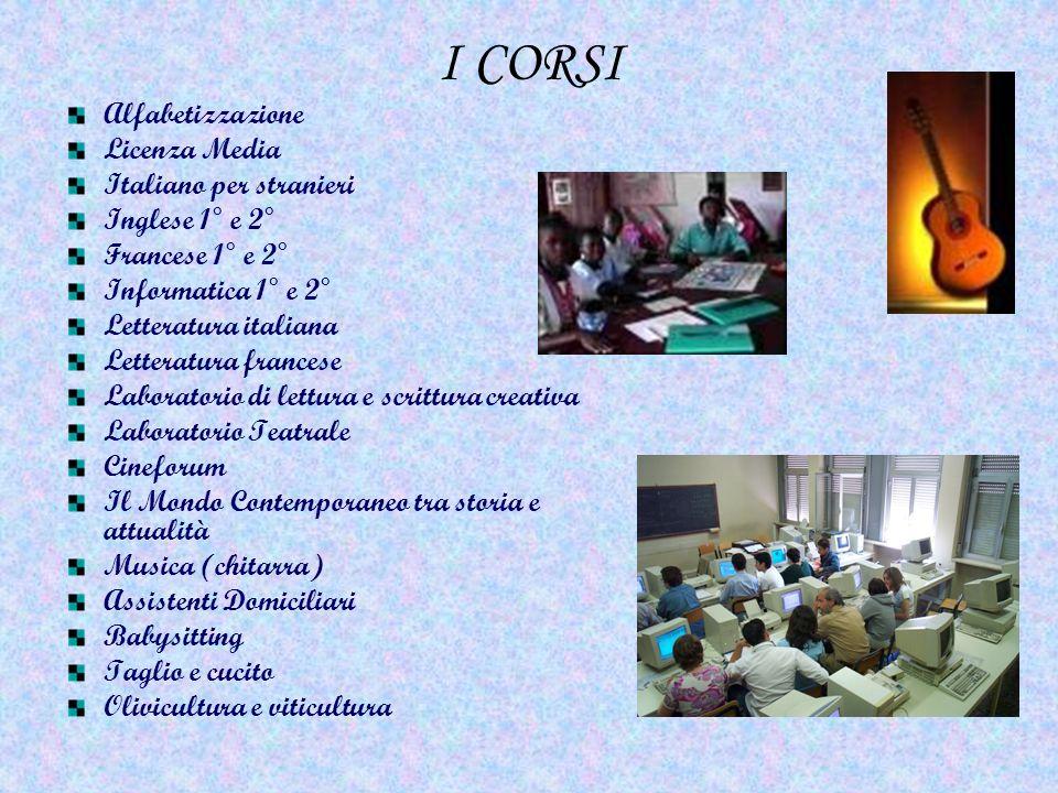 I CORSI Alfabetizzazione Licenza Media Italiano per stranieri