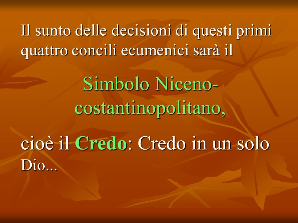 Simbolo Niceno-costantinopolitano,