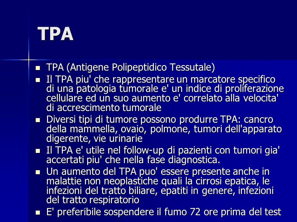 TPA TPA (Antigene Polipeptidico Tessutale)