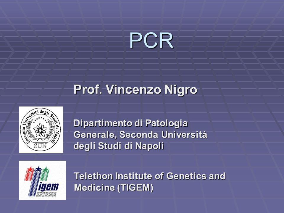 PCR Prof. Vincenzo Nigro