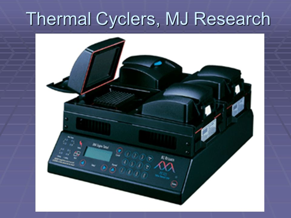 Thermal Cyclers, MJ Research