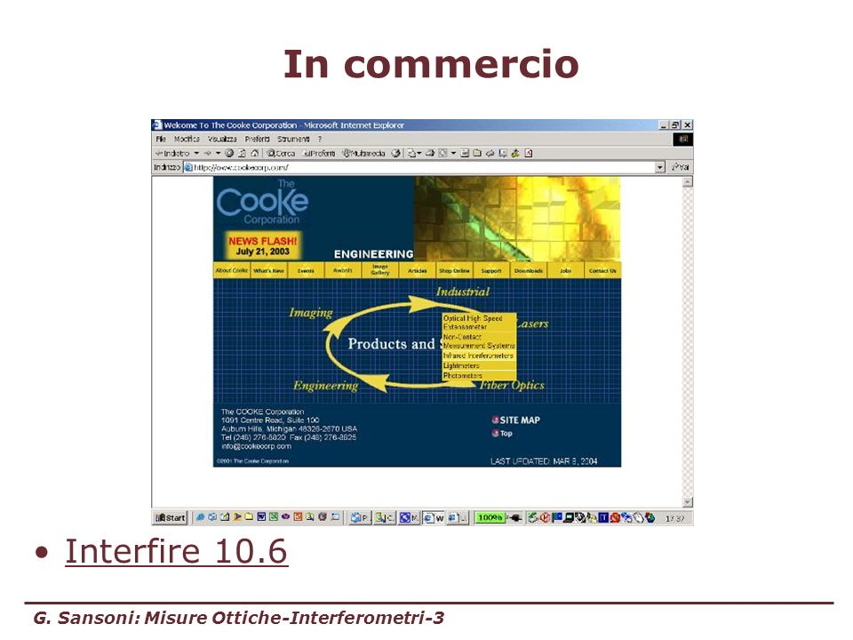 In commercio Interfire 10.6