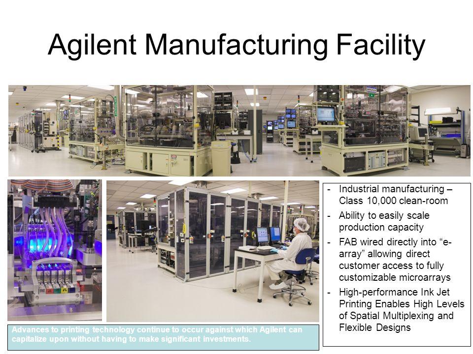 Agilent Manufacturing Facility