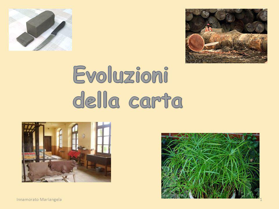 Evoluzioni della carta