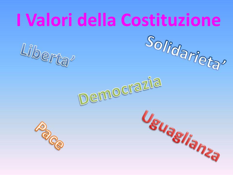 I Valori della Costituzione