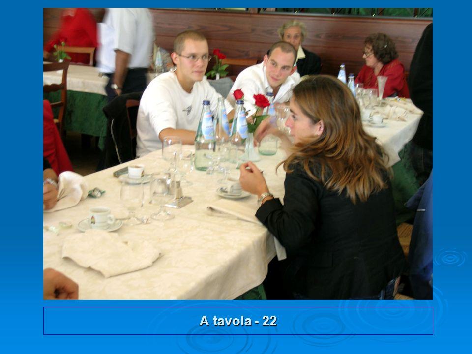 A tavola - 22
