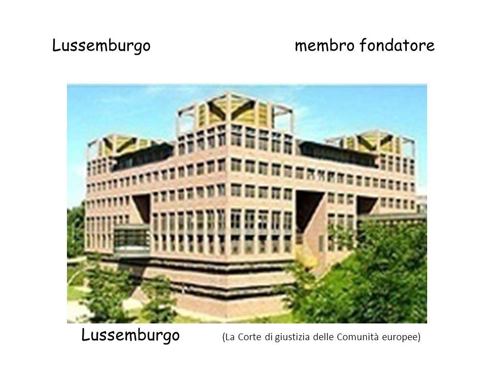 Lussemburgo membro fondatore
