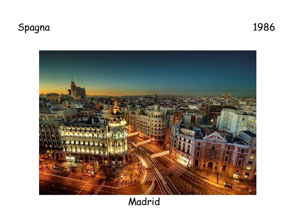 Spagna 1986 Madrid