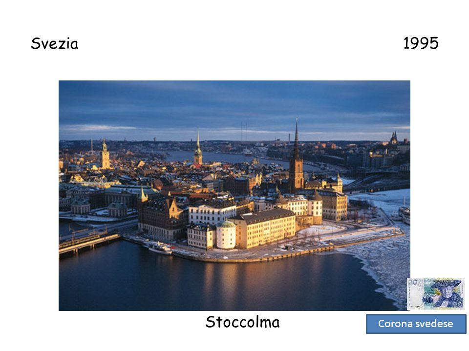 Svezia 1995 Stoccolma.