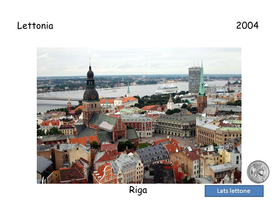 Lettonia 2004 Riga Lats lettone
