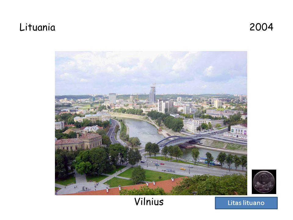 Lituania 2004 Vilnius.