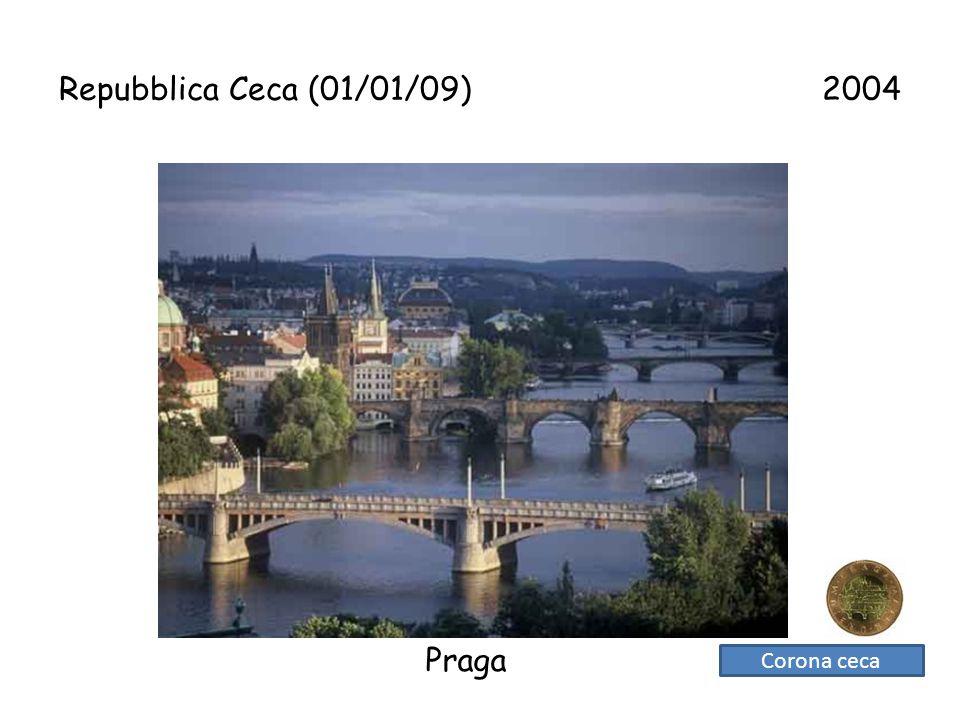 Repubblica Ceca (01/01/09) 2004 Praga Corona ceca