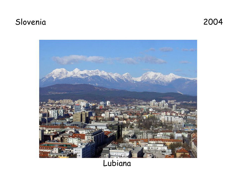 Slovenia 2004 Lubiana