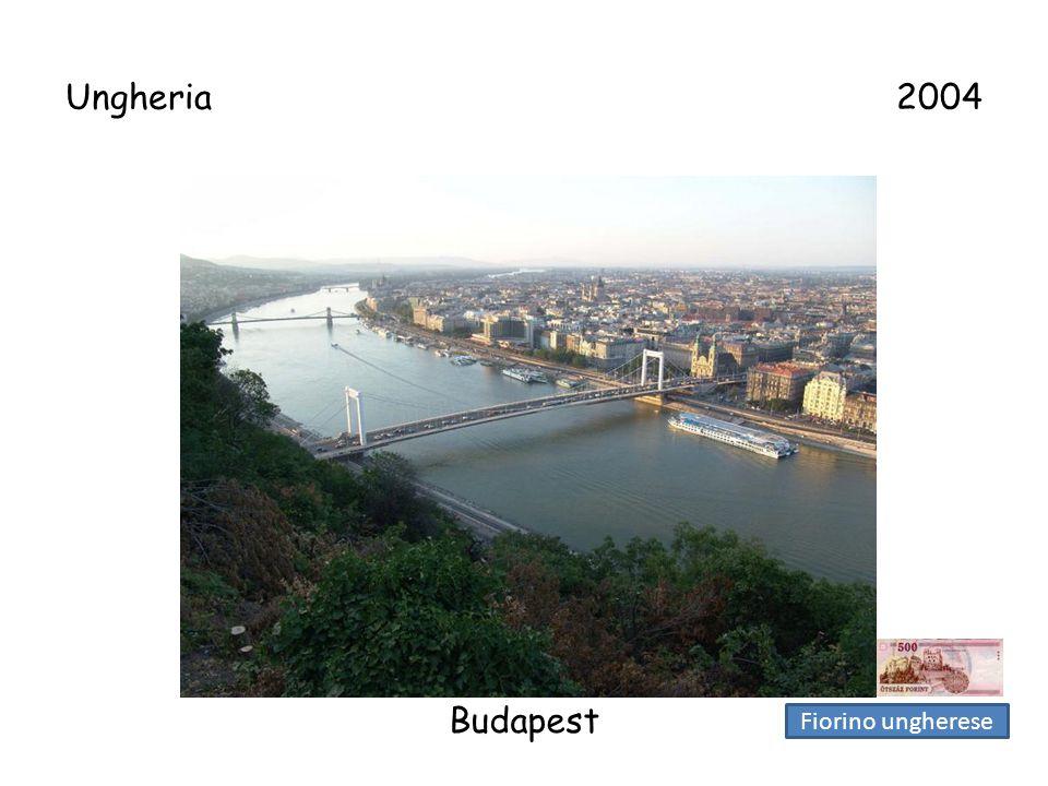 Ungheria 2004 Budapest.