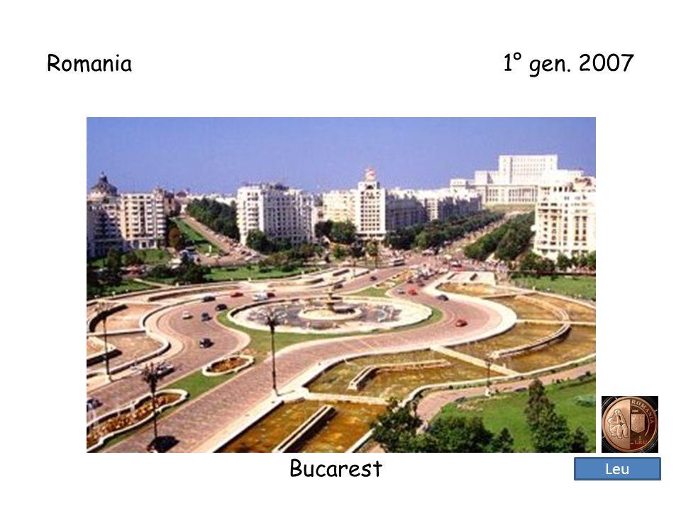 Romania 1° gen. 2007 Bucarest Leu