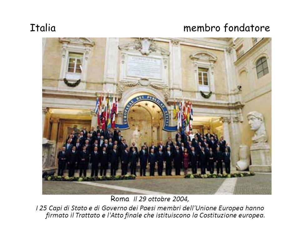 Italia membro fondatore