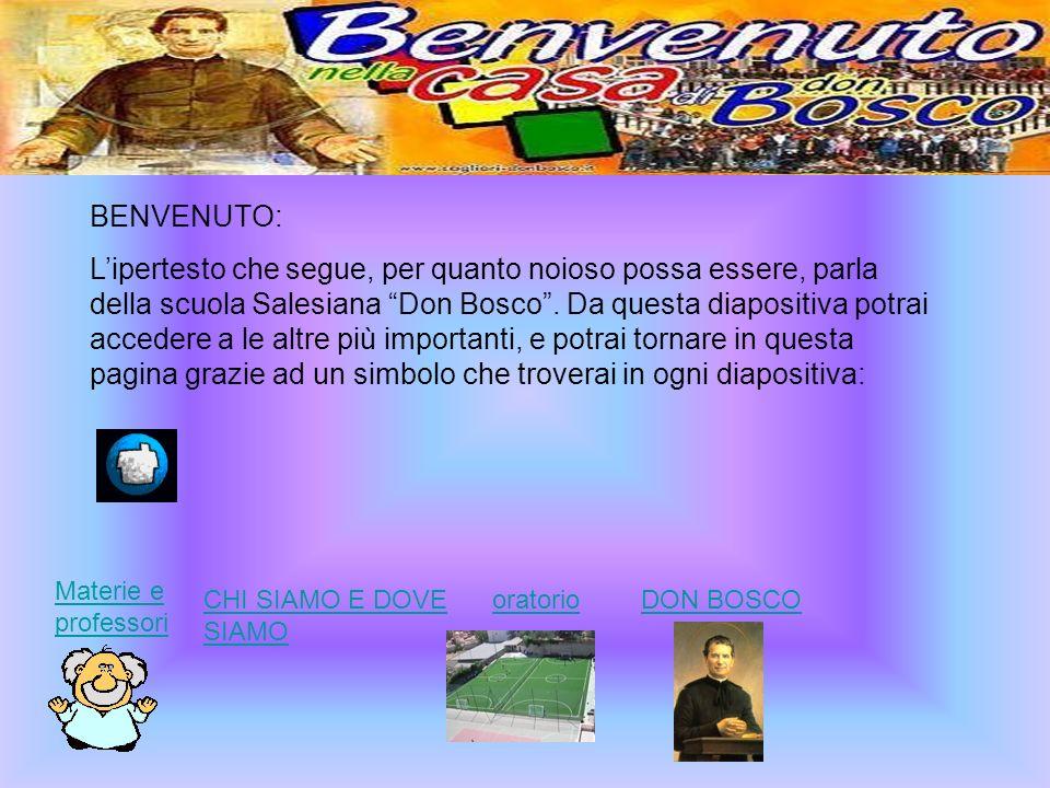 BENVENUTO: