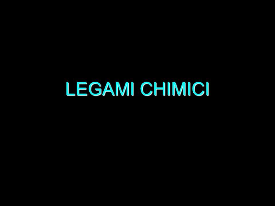 LEGAMI CHIMICI