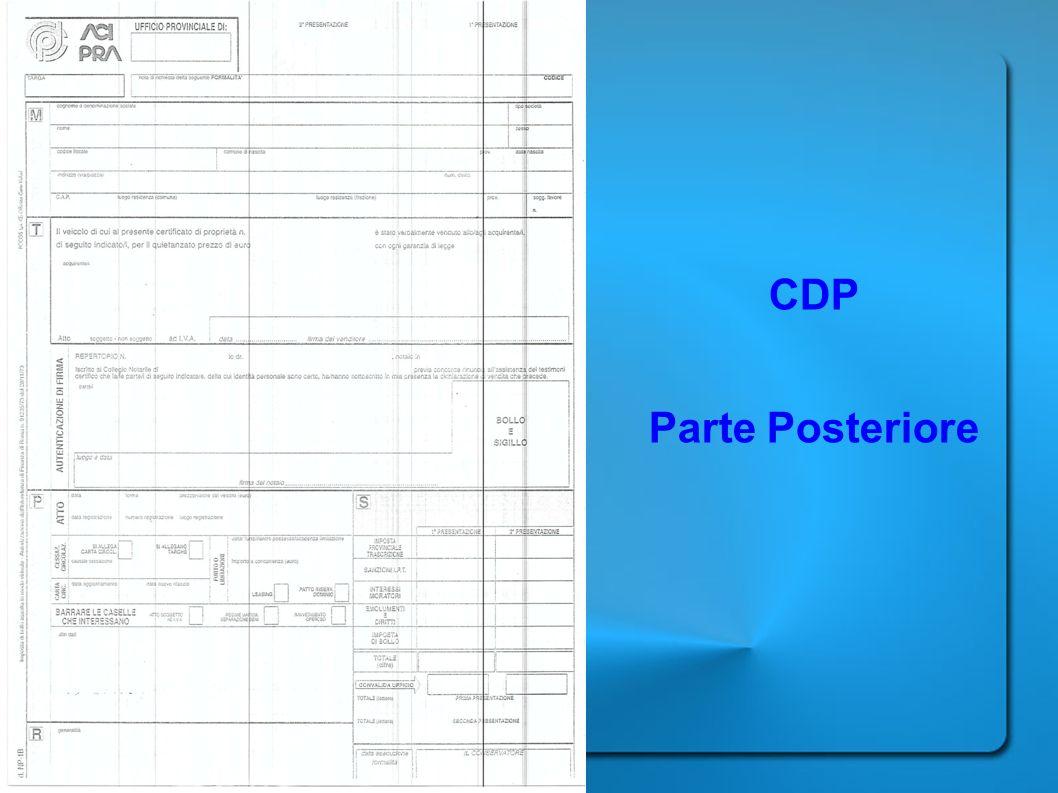 CDP Parte Posteriore