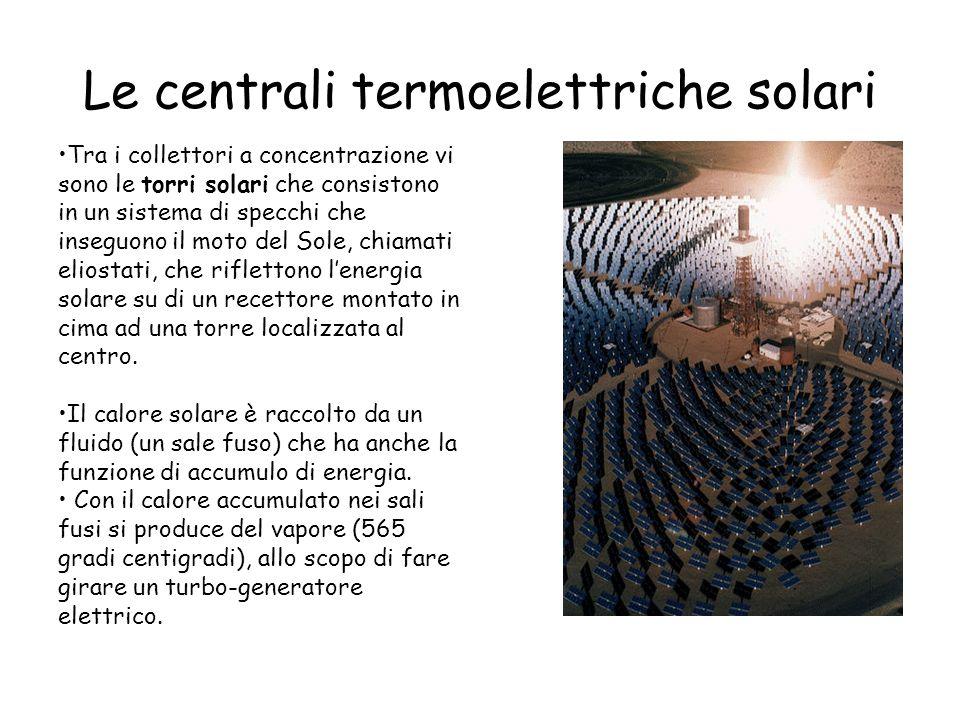 Le centrali termoelettriche solari