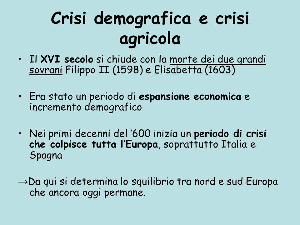 Crisi demografica e crisi agricola