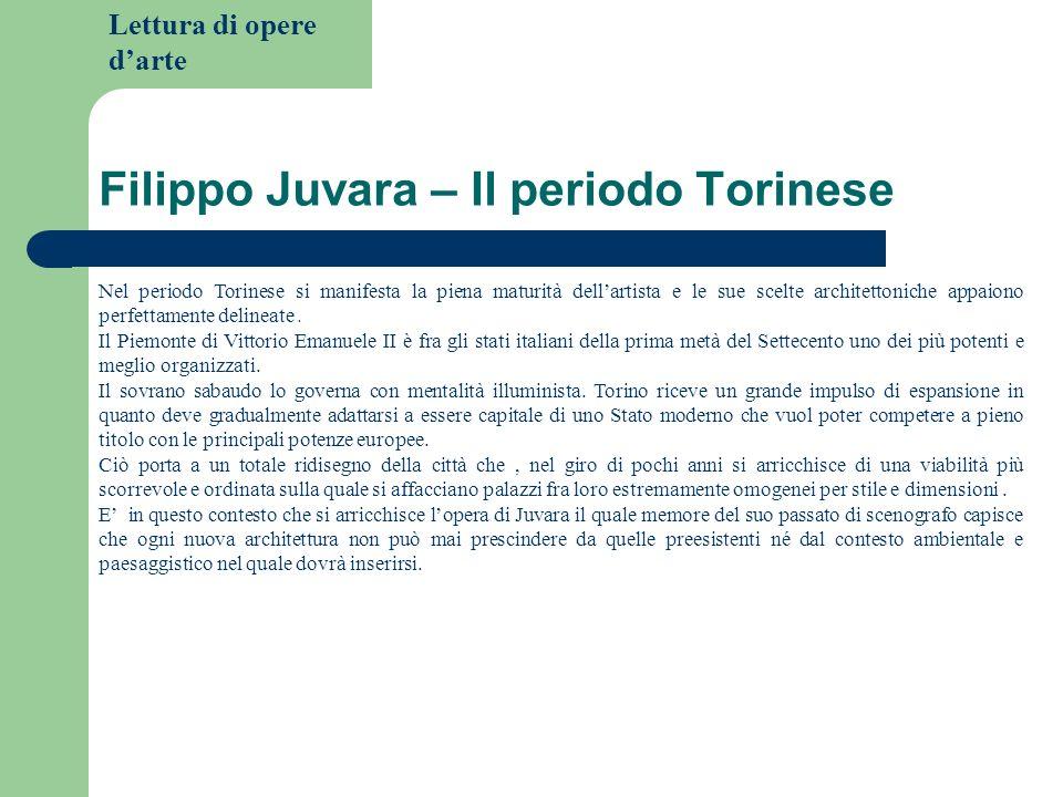 Filippo Juvara – Il periodo Torinese