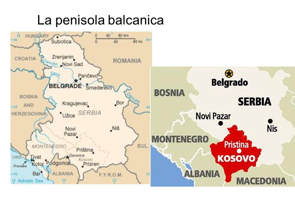 La penisola balcanica