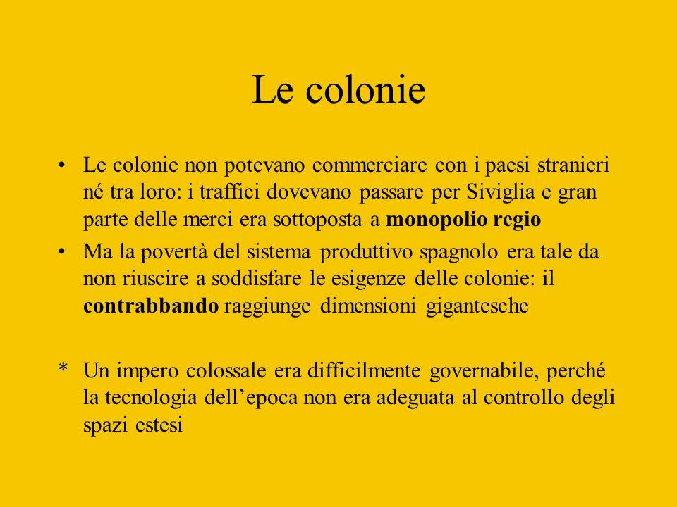 Le colonie