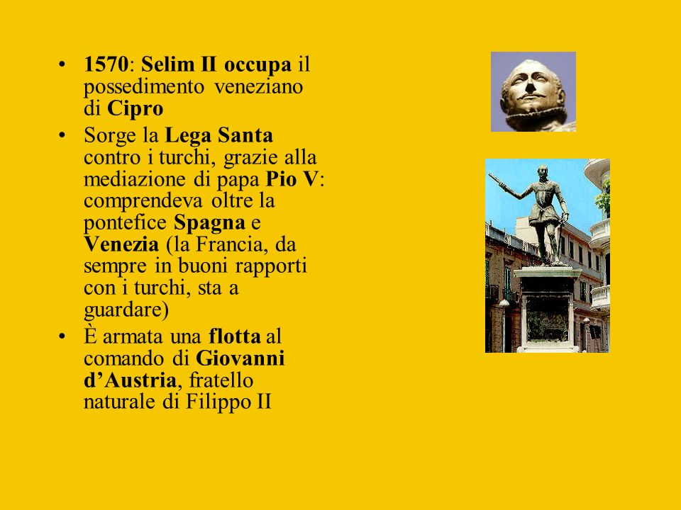1570: Selim II occupa il possedimento veneziano di Cipro