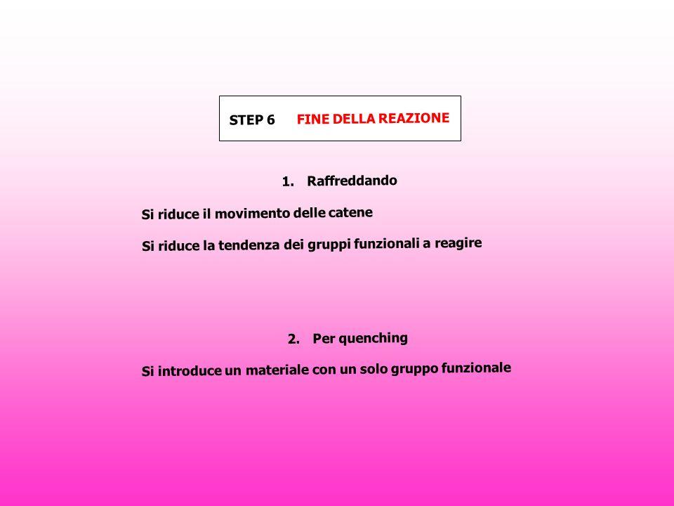 STEP 6 FINE DELLA REAZIONE