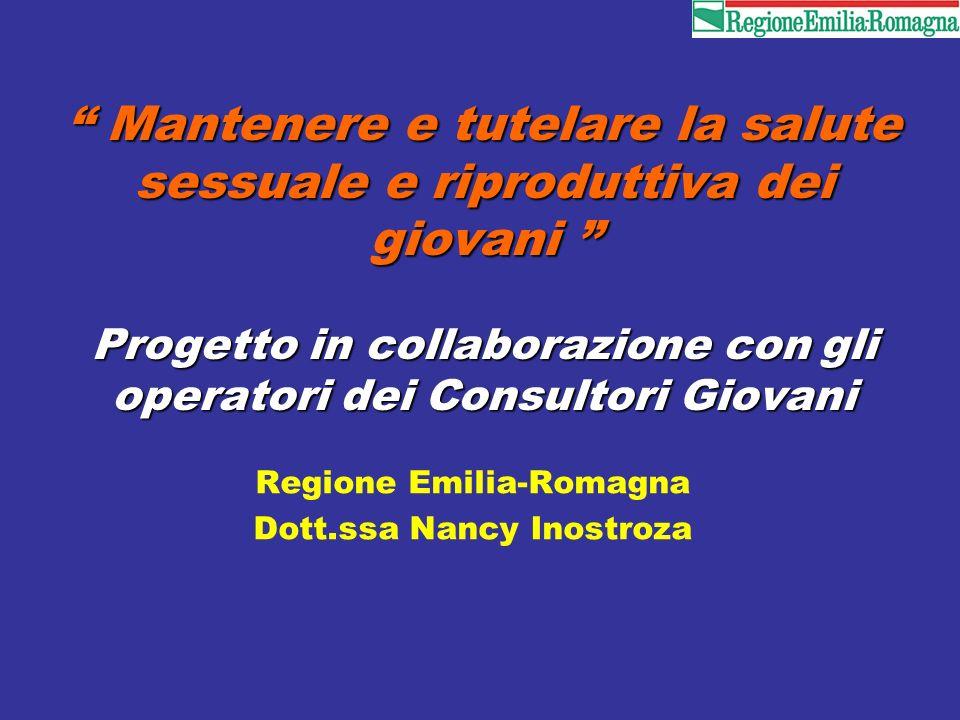 Regione Emilia-Romagna Dott.ssa Nancy Inostroza
